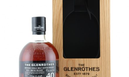 Glenrothes lanza 40 Year Old, un whisky de edición limitada irrepetible