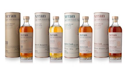 Arran Distillers presenta un nuevo look y single malts