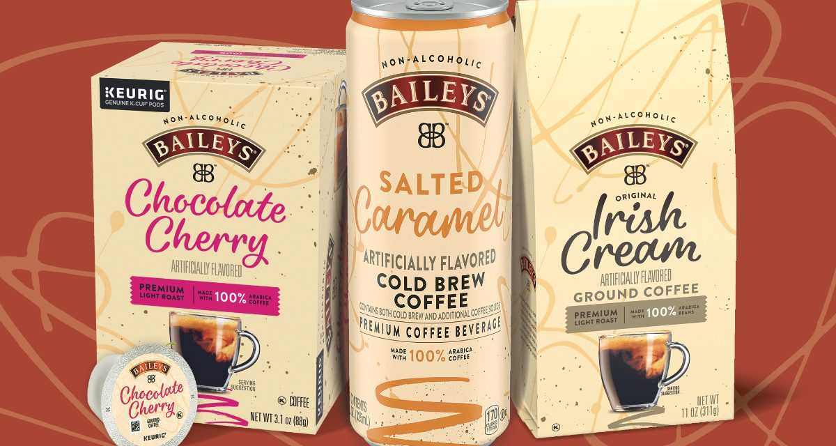 Baileys lanza latas de RTD sin alcohol
