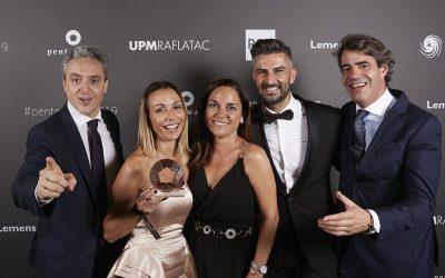 Aldea, Calizo y Huella, una trilogía de vinos ecológicos y veganos, con la Garnacha Tintorera como protagonista, brillan en los premios Pentawards 2019 en Londres