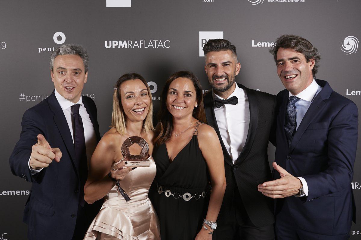 La gama ADARAS triunfa en los premios Pentawards 2019