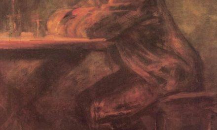 """""""En la taberna"""" (1899), de László Mednyánszky"""