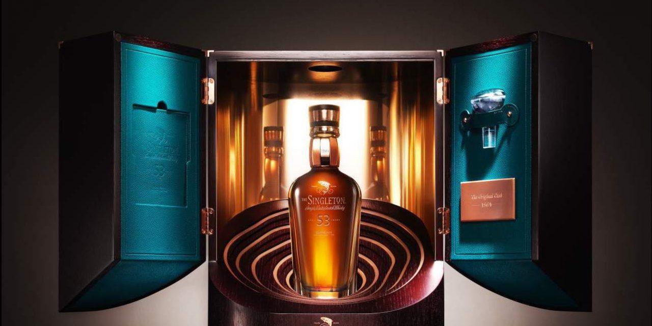 Singleton lanza su whisky escocés más antiguo por £26,400