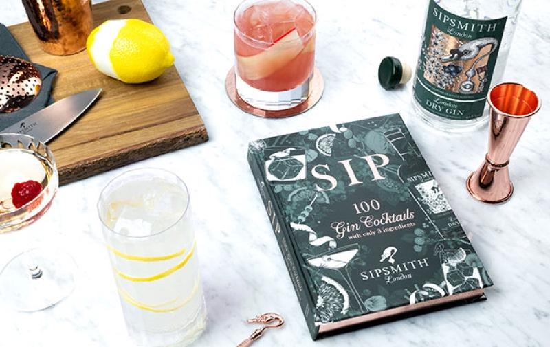 Sipsmith lanza un libro de recetas de cócteles con sólo tres ingredientes