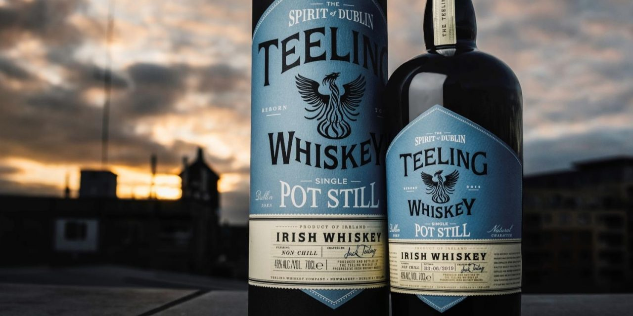 Teeling Single Pot Still Irish Whiskey se dirige al Reino Unido