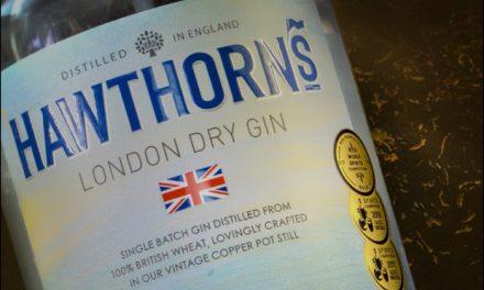 Nuevo diseño de The Label Makers para la ginebra Hawthorn's