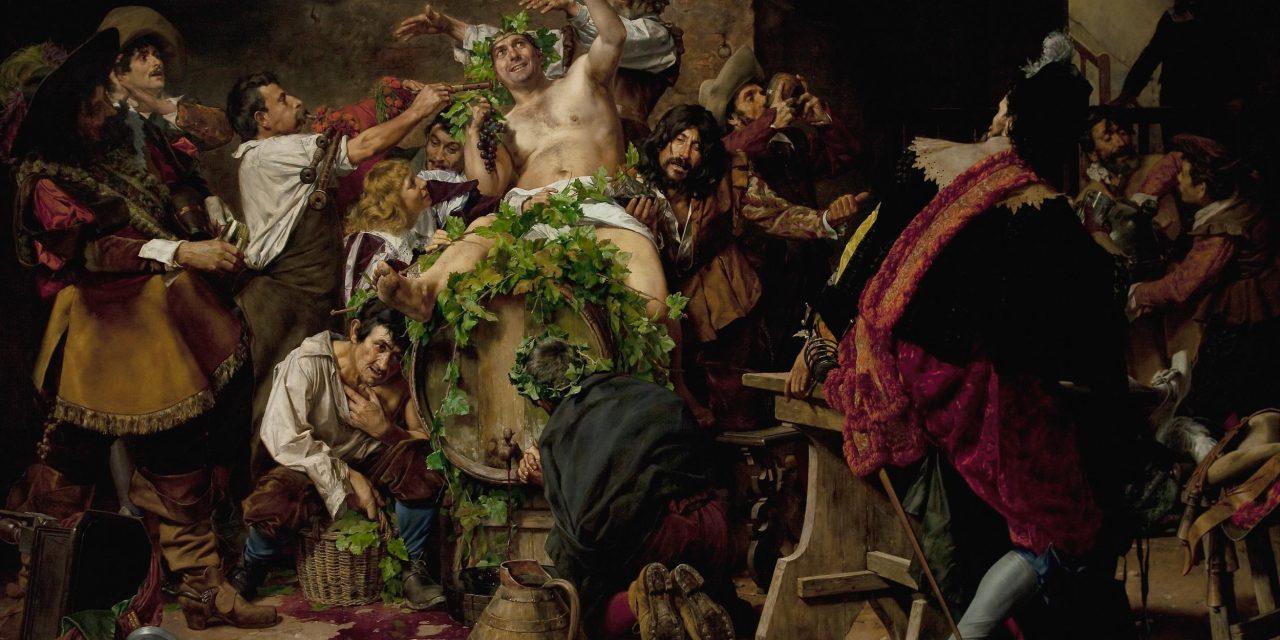 """""""Los borrachos. Bacanal"""" (1889), de Antonio Fabrés"""