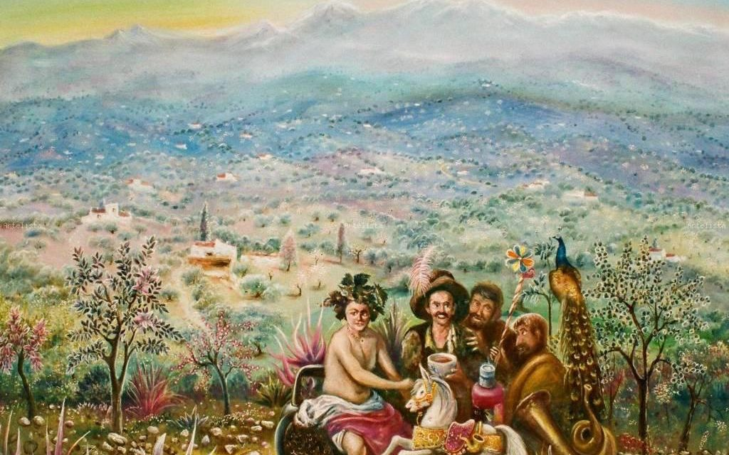 """Los borrachos"" (2008), de Antonio Hidalgo Serralvo"