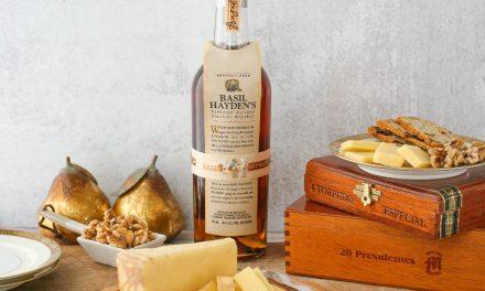 Basil Hayden's lanza Pour Me A Slice, queso con infusión de Bourbon