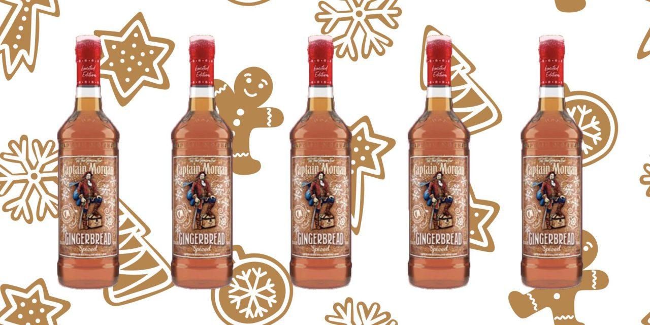 Diageo lanza Captain Morgan Gingerbread Spiced