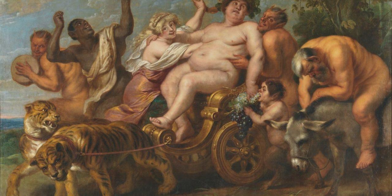 """""""El triunfo de Baco"""" (1636 – 1638), de Cornelis de Vos"""