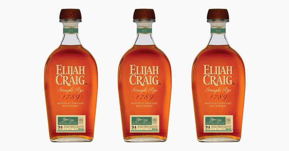 Heaven Hill lanza Elijah Craig Kentucky Straight Rye