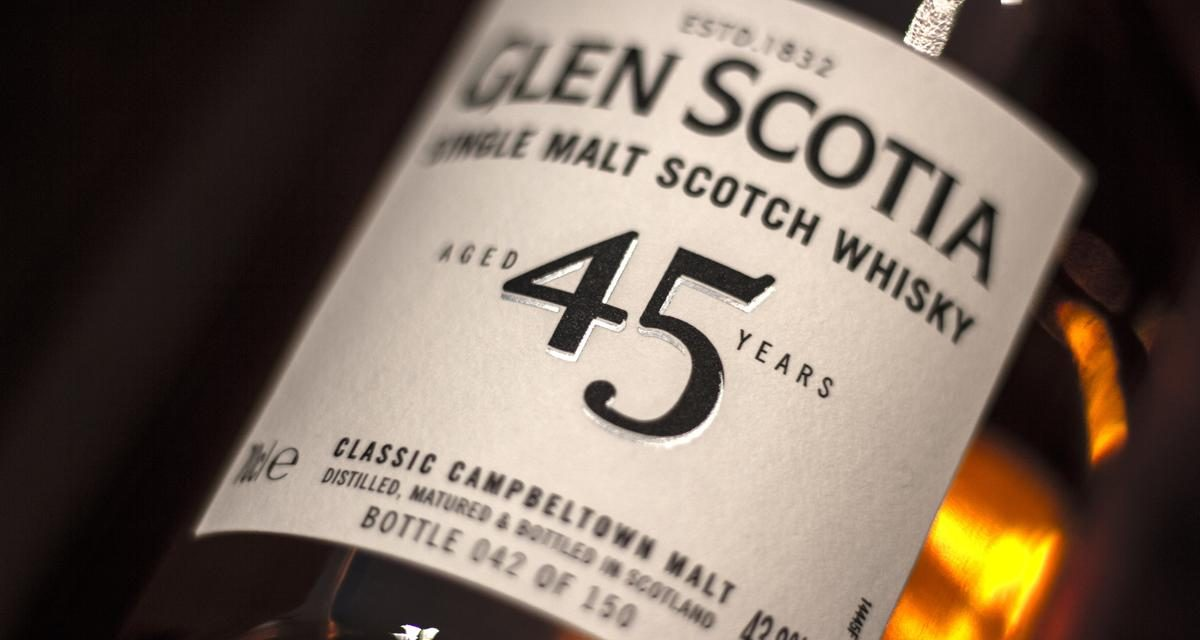 Glen Scotia lanza su whisky más antiguo hasta la fecha, Glen Scotia 45 Year Old