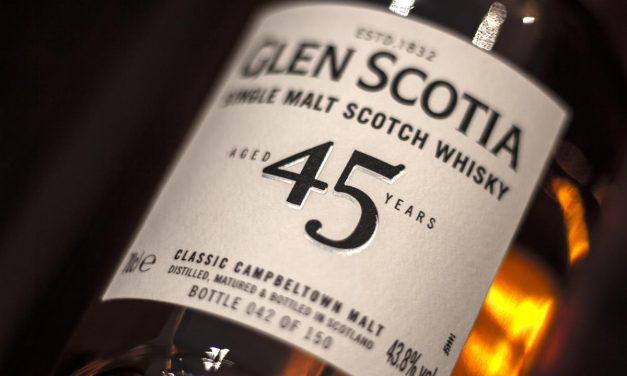 Glen Scotia lanza su whisky más antiguo hasta la fecha, Glen Scotia 45 Year Old