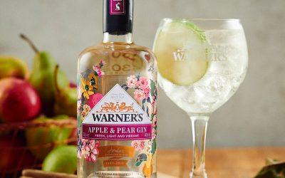 Warner's y Joules colaboran en Joules x Warner, ginebra edición limitada de manzana y pera