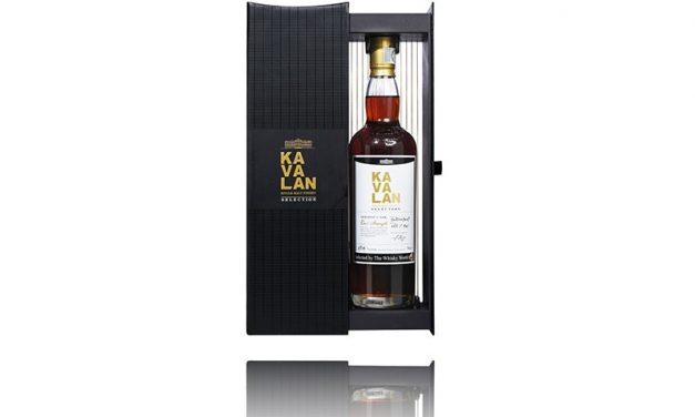 Whisky World lanza la edición limitada Kavalan Single Sherry Cask