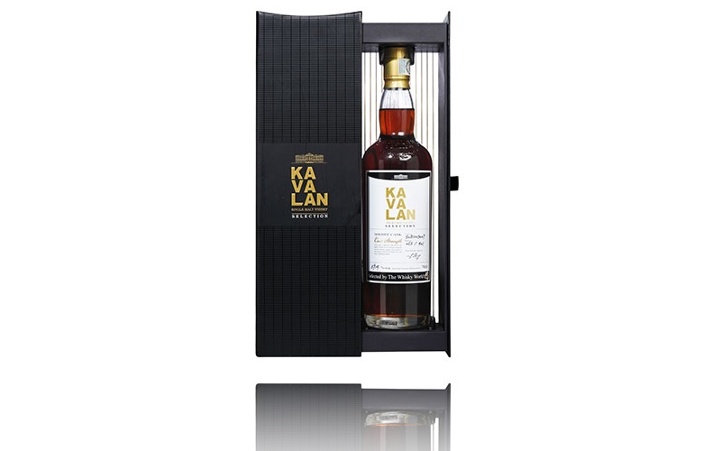 Whisky World lanza la edición limitada Kavalan Single Sherry Cask