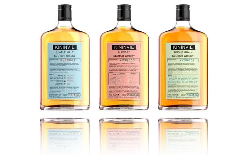 William Grant presenta el whiskie experimental Kininvie