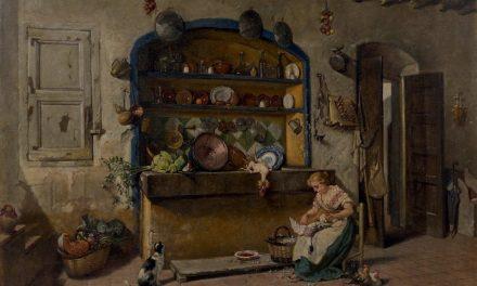 """""""Aves de corral para desplumar"""" (1899), de Manuel Amell y Jordá"""