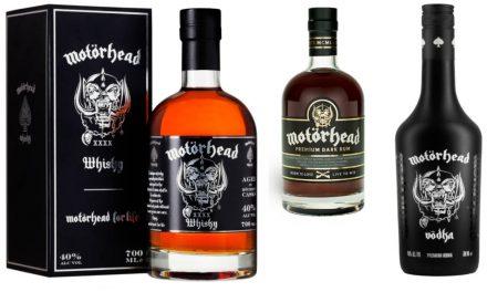 La banda de rock Motörhead lanza sus propios whisky de malta, ron y vodka