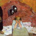 "Paul Gauguin - ""Miserias humanas (la vendimia)"
