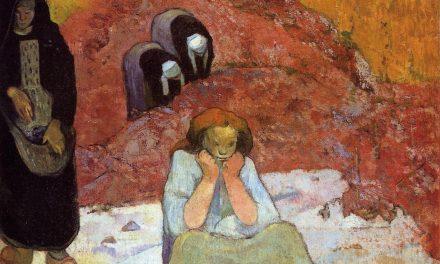 """""""Miserias humanas, la vendimia"""" (1888), de Paul Gauguin"""
