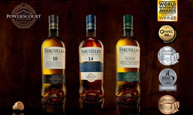Powerscourt Distillery lanza su gama de whisky Fercullen