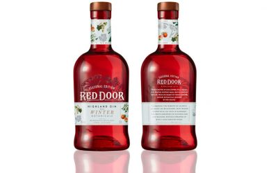 Red Door lanza su gama de ginebras de temporada con Red Door Highland Gin with Winter Botanicals