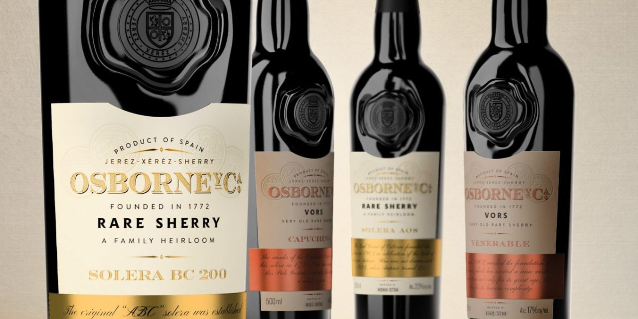 Osborne celebra International Sherry Week compartiendo vinos viejos de Jerez