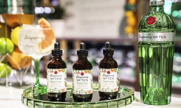 Tanqueray se asocia con La Pietra para crear la edición limitada Tanqueray No. Ten Tropical Citrus Heart Bitters