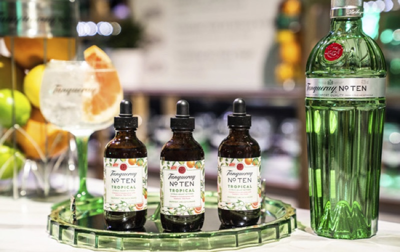 Tanqueray No. Ten Tropical Citrus Heart Bitters