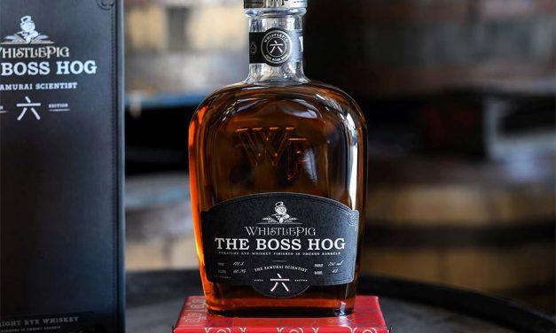 WhistlePig termina whisky de centeno en barriles umeshu con The Boss Hog: The Samurai Scientist