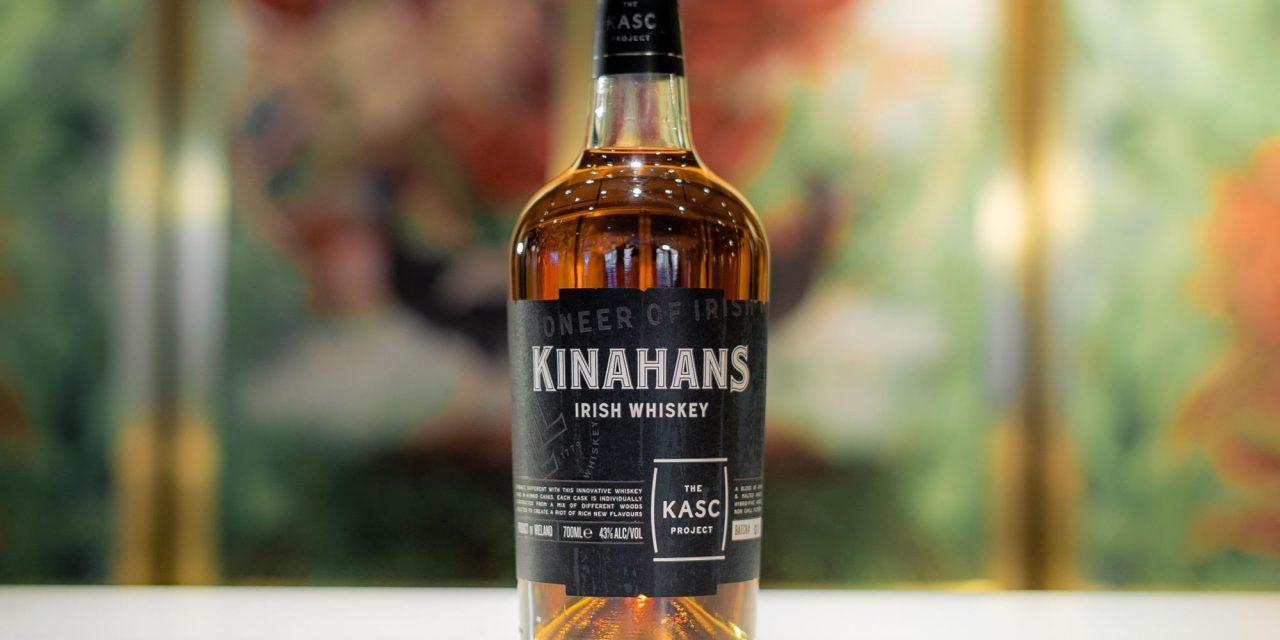 Kinahan's presenta whisky irlandés en barriles híbridos, The Kasc Project