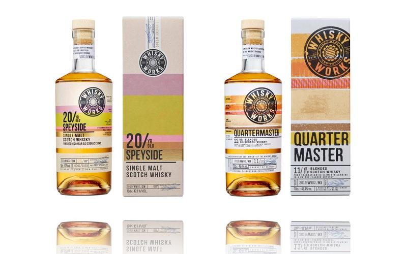 Whisky Works amplía la gama de whisky escocés 'experimental' con 20 Year Old Speyside y The Quartermaster