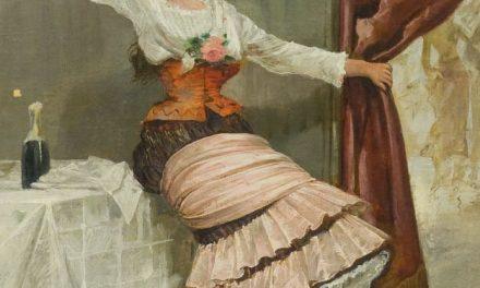 """""""Joven brindando"""" (1858), de Adolfo de Águila"""