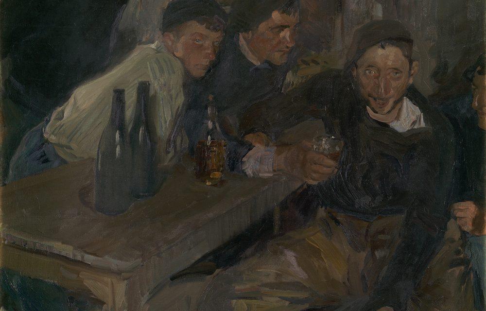 """El borracho, Zarauz"" (1910), de Joaquín Sorolla"