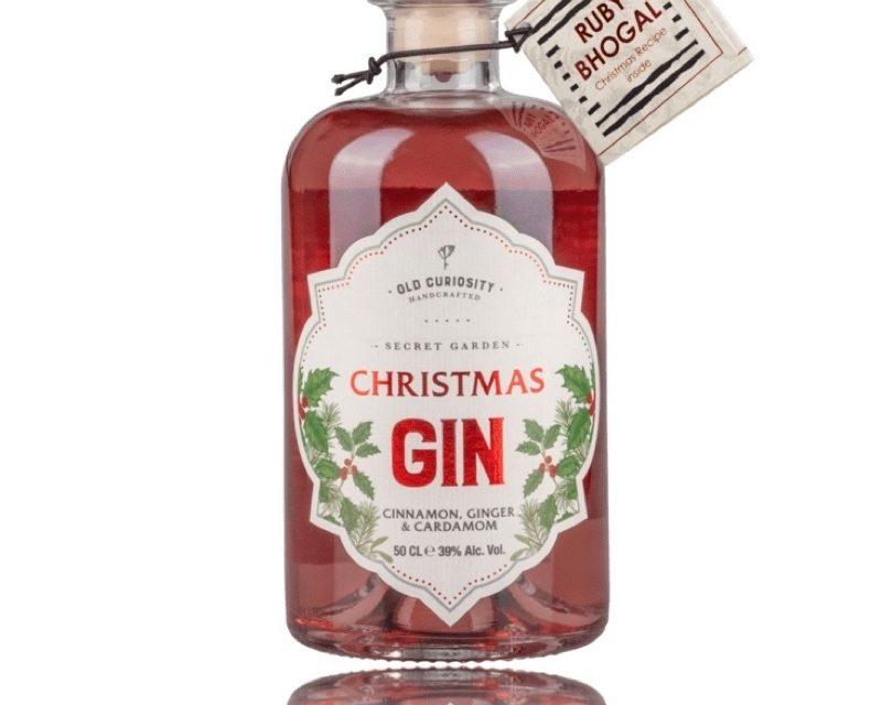 Ruby Bhogal y Old Curiosity Distillery lanzan Old Curiosity Distillery's Christmas Gin