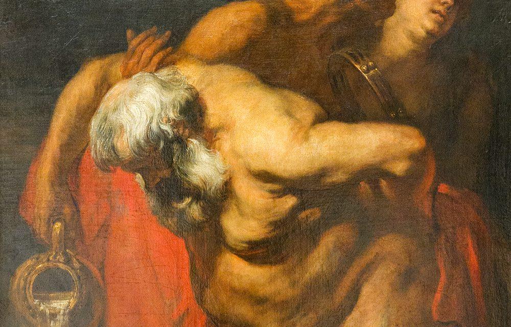 """""""Sileno ebrio"""" (1629), de Anton van Dyck"""