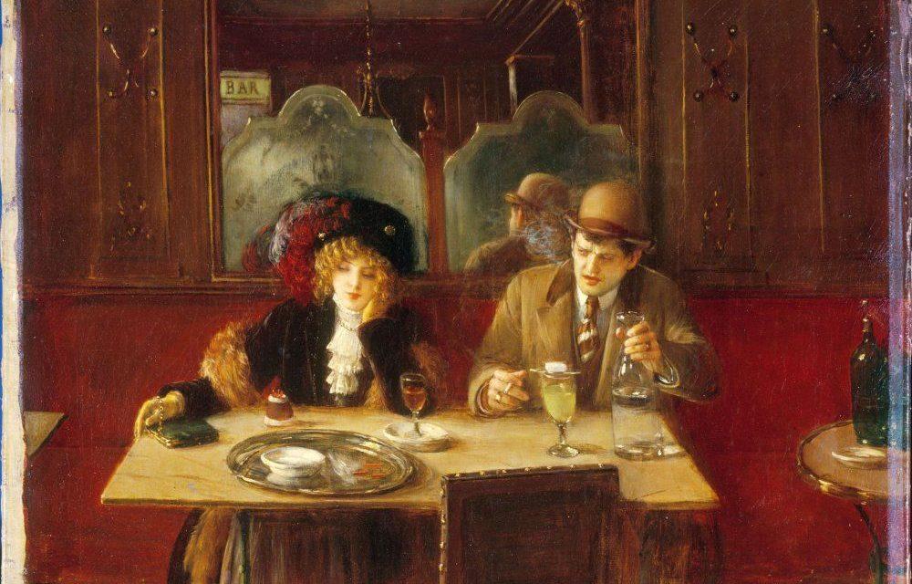 """""""Los bebedores de absenta"""" (1902), de Jean Béraud"""