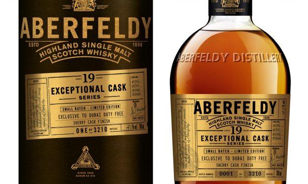 Aberfeldy añade 19 años a la serie Exceptional Cask Series