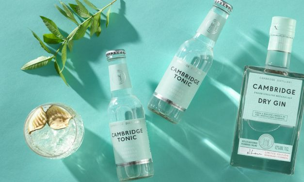 Cambridge Distillery estrena agua tónica con Cambridge Tonic