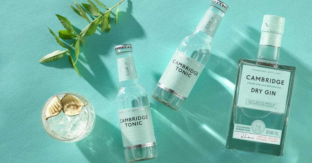 Cambridge Distillery estrena agua tónica con Cambridge Tonic