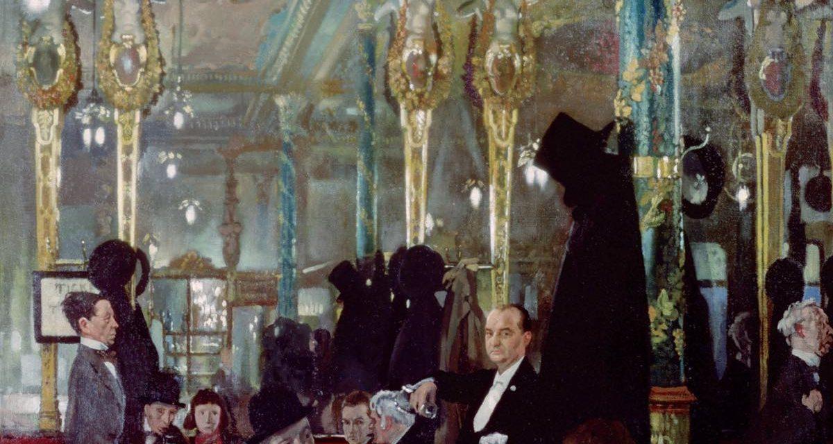 """El Café Royal"" (1911), de Charles Ginner"