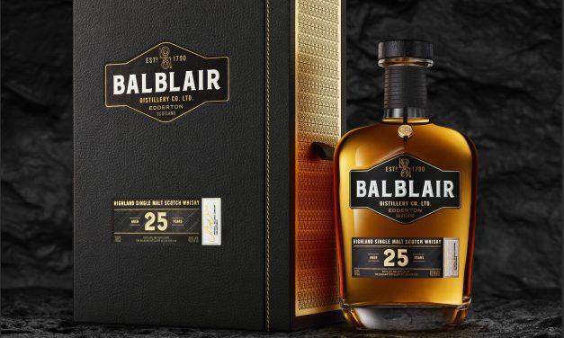 Croxsons crea nuevo packaging para Balblair 25