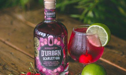 Distillery 031 lanza D'Urban Scarlet Gin, la primera ginebra con infusión de cascara