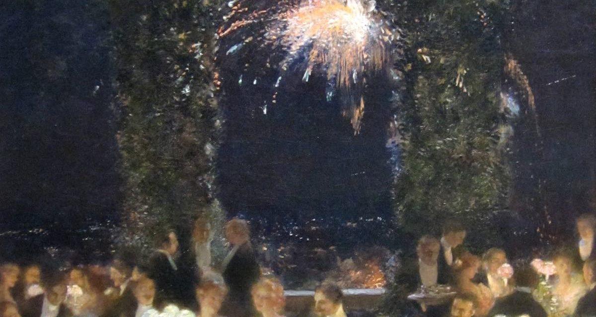 """""""Cena en el Casino"""" (1903), de Gaston La Touche"""