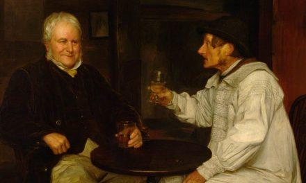 """Rival Drinks"" (1862), de James Hayllar"
