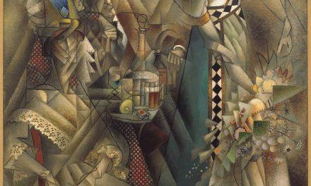 """Bailarina en un café"" (1912), de Jean Metzinger"