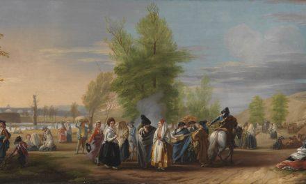 """""""La pradera de San Isidro"""" (1785), de José del Castillo"""