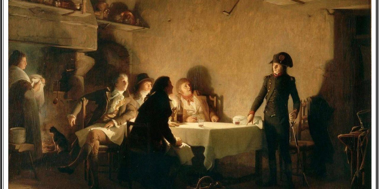 """""""Le Souper de Beaucaire"""" (1894), de Jean-Jules-Antoine Lecomte du Nouÿ"""